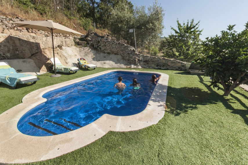 Casa Roble piscina2