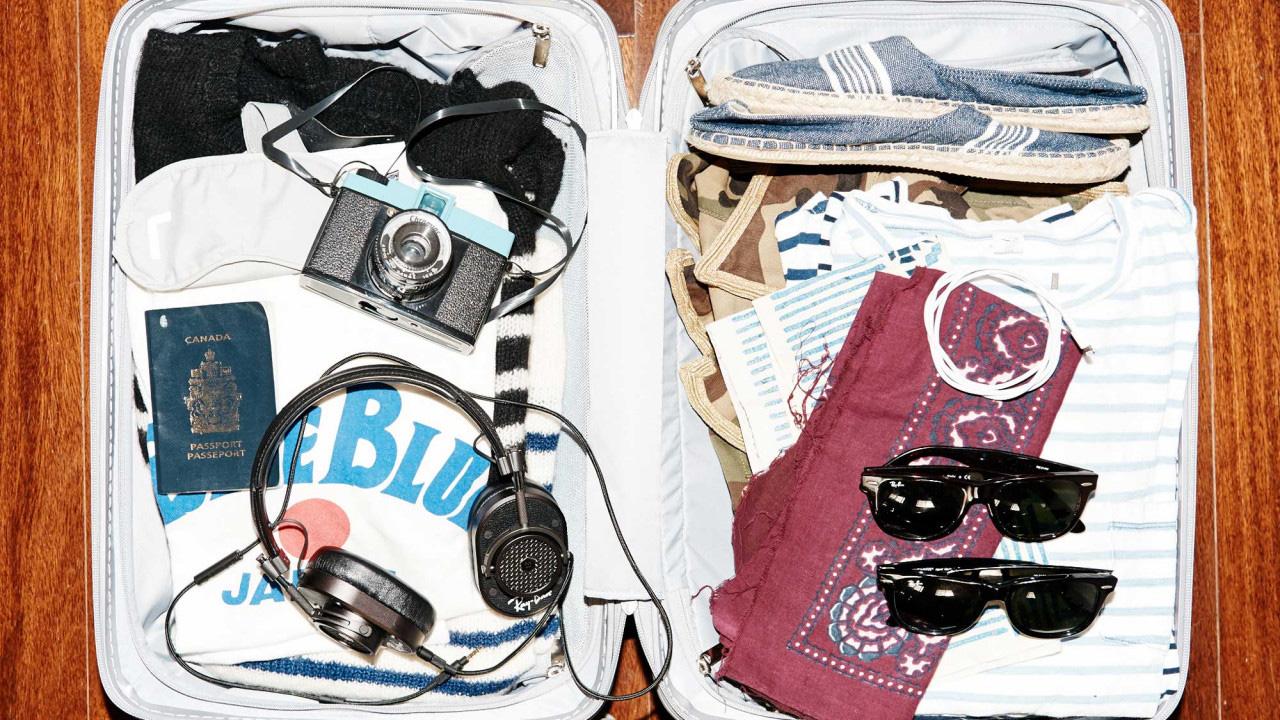consejos para organizar una maleta