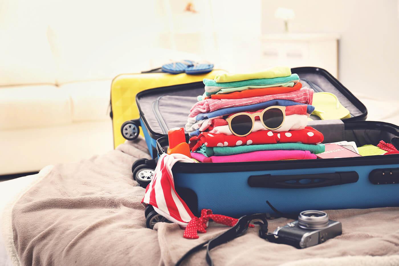 tips para hacer una maleta