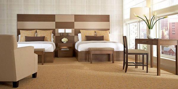 mobiliario de un hotel