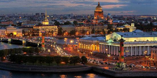Vacaciones en San Petersburgo