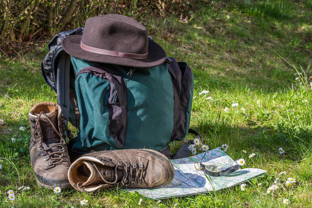 calzado como para viajes